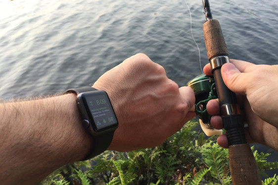 Hiking with an Apple Watch